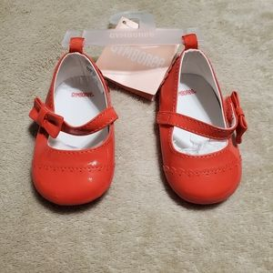 Baby girl patent leather mary janes
